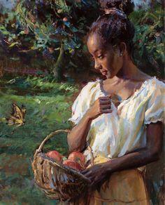 Black Girl Art, Black Women Art, Art Girl, Black Art Painting, Classical Art, Renaissance Art, Old Art, Pretty Art, Aesthetic Art