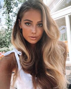 Good Hair Day, Great Hair, Love Hair, Summer Hairstyles, Pretty Hairstyles, Slick Hairstyles, Try On Hairstyles, Hot Haircuts, Hair Flow