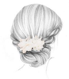 Les coiffures double jeu de 365c http://www.vogue.fr/mariage/beaute/diaporama/les-coiffures-evolutives-chignons-et-tresses-de-mariage-tendances-cheveux/21507