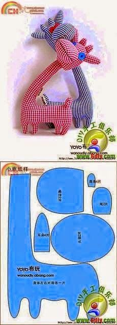 zabawki do uszycia szablony