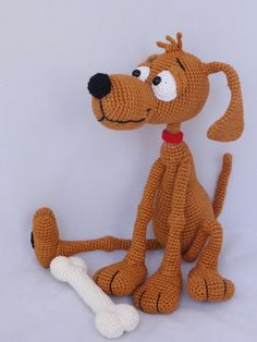 Amigurumi Crochet Pattern  Doug the Dog