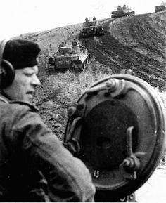 "German tanks ""Tiger"" on the Kursk Bulge."