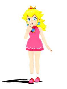 MMD Edit] Mario Power Tennis Styled US Peach by VirtuaBlueAM2 on ...