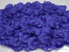 Cheap Wedding Decoration Petals - Discount 5cm Bulk Rose Petals Fabric Artificial Flower Petals Online with $0.01/Piece | DHgate