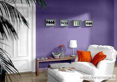 So Toll Kann Man Verschiedene Violetttne Auch Lila Oder Flieder Mit Anderen Farben Kombinieren Trendtapeten In Violett Und Die Verschiedensten