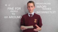 The importance of correctly pronouncing Māori words - I loved this speech by Finn Galbraith.