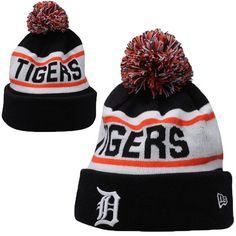 Detroit Tigers MLB Biggest Fan Pom Beanies Knit Hats Cap 3a7f60e72257