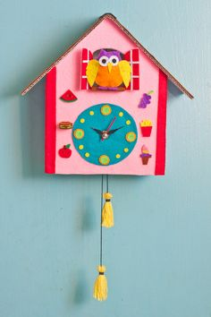 DIY Cuckoo Clock Craft - Great parent-child activity! http://ift.tt/2aXvwYV . how to make your own #crafts follow @cutephonecases