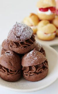 Soesjes Sweet Recipes, Cake Recipes, Dessert Recipes, Dutch Desserts, Bake My Cake, French Pastries, High Tea, Let Them Eat Cake, Afternoon Tea