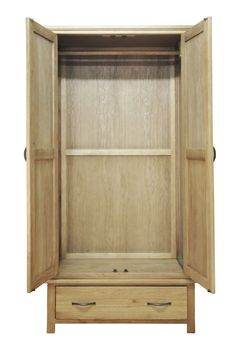 http://www.bonsoni.com/wrexham-light-oak-finish-gents-double-wardrobe-by-kaldors   This GENTS DOUBLE WARDROBE is a collection of oil finished furniture offers exceptional value and lets the warmth and rich grain of much-loved oak come to the fore.   http://www.bonsoni.com/wrexham-light-oak-finish-gents-double-wardrobe-by-kaldors
