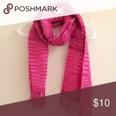 Strip tassel scarf One size. Super pretty and easy to match different styles and outfits Accessories Scarves & Wraps