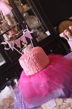 BALLET CAKE ~ so sweet!