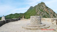 Le Pic des Singes et le mont Gouraya