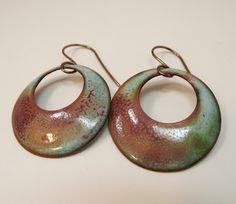 Love My Art Jewelry: Hand-cut, disc-cut earrings tutorial.....