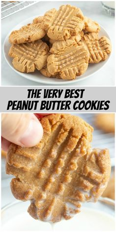 Best Peanut Butter Cookies recipe from RecipeBoy.com #best #prince #liam #princeliam #princeliams #peanut #butter #cookie #cookies #recipe #RecipeBoy
