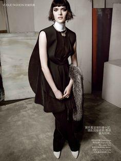 Vogue China Editorial July 2014 - Sam Rollinson by Tom Munro