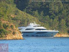 Enjoying mega yacht luxury in the Gocek Islands, Turkey - Eastern Mediterranean
