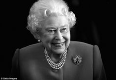 By royal appointment: The Queen visits Drapers' Hall for a lunch to celebrate the 70th anniversary of her mission to the Freedom of the Company