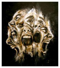 Image result for conflicting emotions artwork