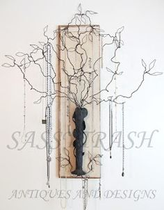 My new jewelry hanger design