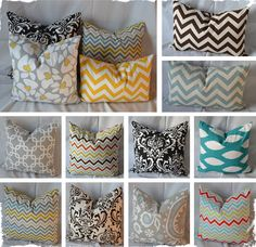 $12 Beautiful Pillow Covers - 12 Prints In Your Choice of 4 Sizes! at VeryJane.com