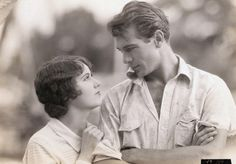 Gary Cooper and Fay Wray in The First Kiss (1928)