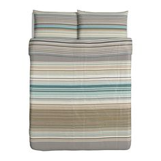 PALMLILJA Duvet cover and pillowcase(s) IKEA Lyocell, a material that absorbs and transports moisture away and keeps you dry all night long.