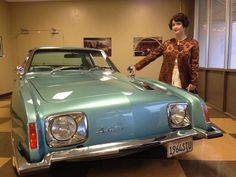 Awesome Studebaker 2017 - The Lady (Ginger Pauley) and a The Studebaker (1964 Studebaker Avanti, designed ... Check more at http://24car.ml/my-desires/studebaker-2017-the-lady-ginger-pauley-and-a-the-studebaker-1964-studebaker-avanti-designed/