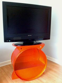Stroage units for home and retail use custom madefrom recycled 55 gallon steel drums. Custom orders are welcome.