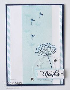 Summer Silhouettes Shadow Stamping from Stampin' Up! Tracy May