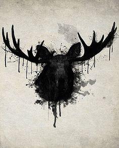 Moose by Nicklas Gustafsson