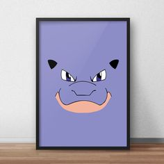 Een persoonlijke favoriet uit mijn Etsy shop https://www.etsy.com/nl/listing/590215130/blastoise-pokemon-printed-canvas