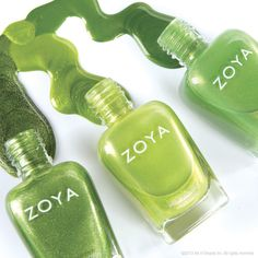 Zoya Nail Polish, Zoya Nail Care Treatments and Zoya Hot Lips Lip Gloss: August Birth Color Nail Polish Blog, Green Nail Polish, Green Nails, Nail Polish Colors, Nail Polishes, Manicures, Natural Nail Polish, Natural Nails, Color For Nails