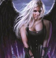 Elena from Nalini Singh's Archangel series