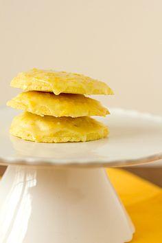Orange Cookies with Sweet Orange Glaze