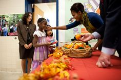 Michelle Obama Healthy Foods in Schools