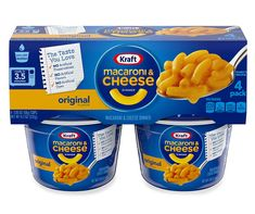 Save on dorm bedding, furniture, and dorm room decorations at Big Lots. Find fun & stylish dorm bedding sets, wall décor, desks & other essentials for less. Macaroni And Cheese Kraft, Quick Mac And Cheese, Mac And Cheese Cups, Making Mac And Cheese, Macaroni Pasta, Microwave Dinners, Dorm Food, Cheese Cultures, Emergency Food