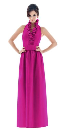 Weddington Way is your one stop shop for bridal party fashion online. Explore our boutique for the largest selection of beautiful bridesmaid dresses, suit & tuxedo rentals for the men, bridesmaid gifts, accessories & more. Alfred Sung Bridesmaid Dresses, Beautiful Bridesmaid Dresses, Bridesmaid Dress Styles, Hot Pink Weddings, Pink Wedding Theme, Dream Wedding, Cerise Pink Dress, Always A Bridesmaid, Black Tie Wedding