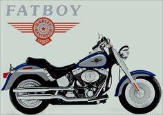11533 - HARLEY-DAVIDSON - Fat Boy - 41x29-