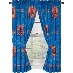 Spiderman Window Drapes ** For more information, visit image link.Note:It is affiliate link to Amazon. #fashionkid