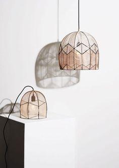 Mooie hanglampen van Alexandra Raben!