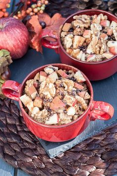 Quinoa for Breakfast? Of course! Using quinoa in place of oatmeal is a healthy alternative. Made with apples, cinnamon & walnuts for a quinoa breakfast bowl