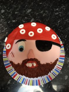 Home made pirate cake. Aargggghhh