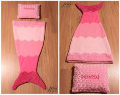 Single Mermaid Tail Blanket. This super soft blanket is perfect for the child in…