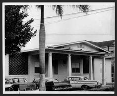 Edificio del Hospital Municipal de Santurce, Sala de Pediatría, 1962.