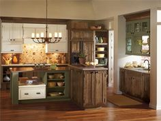 Decora Airedale Kitchen Cabinets - traditional - Kitchen - Other Metro - MasterBrand Cabinets, Inc. Cabinets And Countertops, Rustic Cabinets, Farmhouse Kitchen Cabinets, Kitchen Cabinetry, Grey Cabinets, Taupe Kitchen, Alder Cabinets, Colored Cabinets, Antique Cabinets