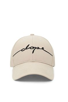 9effff96a69 A dad cap by Dope™ featuring an embroidered