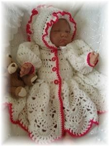 Baby Crochet Pattern Jacket and Bonnet - Cara. $4.00, via Etsy. Another goodie for my babies!