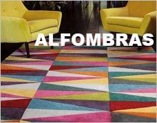 alfombra con formas geométricas realizada a mano en 95% lana