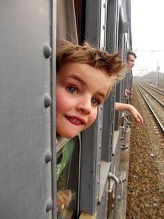 Marco sul treno a vapore 25 aprile 2013